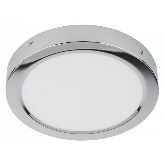 LED 8-18-4K CH Светильник ЭРА светодиодный круглый накладной LED 18W  220V 4000K,хром (10/350)