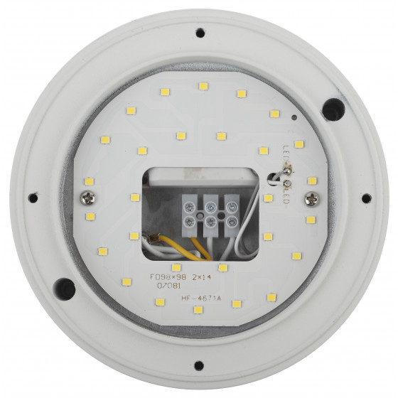 SPB-7-12-R ЭРА Cветильник светодиодный антивандальный IP65 12Вт 1140Лм 5000К D145 КРУГ (24/432)