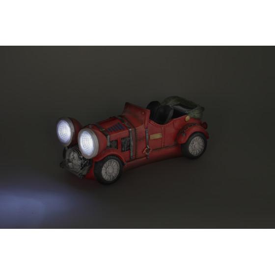 SL-RSN12-CAR ЭРА Садовый светильник на солнечной батарее, полистоун, цветной, 12 см (12/96)