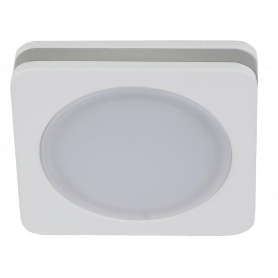 KL LED 13-7 WH Светильник ЭРА светодиодный квадратный 7W 4000K, белый (50/900)