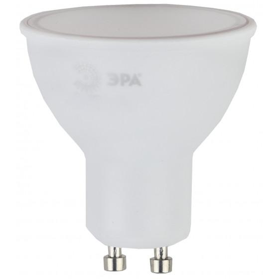 LED MR16-6W-840-GU10 ЭРА (диод, софит, 6Вт, нейтр, GU10) (10/100/4000)