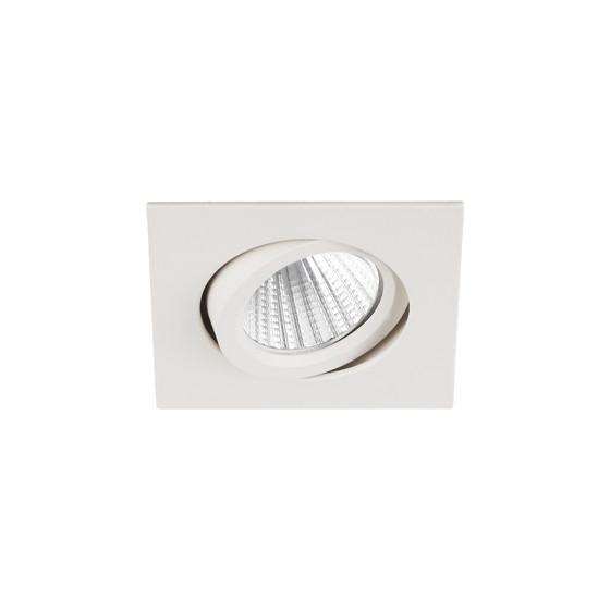 KL LED 10A WH Светильник ЭРА светодиодный квадратный пов. LED COB 5W 4000K, белый (50/1500)