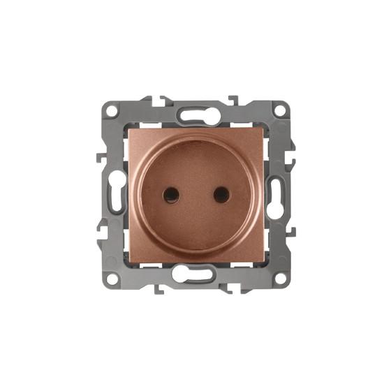 12-2105-14 ЭРА Розетка 2P, 16A-250В, IP20, Эра12, медь (10/100/3000)