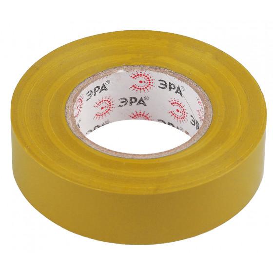 ЭРА ПВХ-изолента 15мм*20м желтая (10/200/8000)