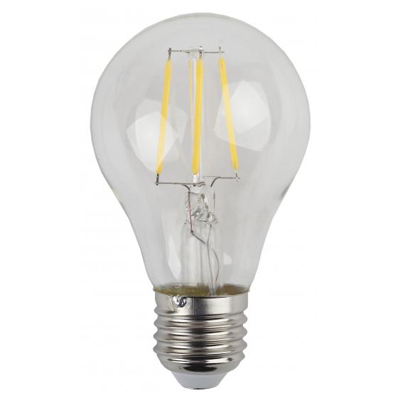 F-LED A60-5W-840-E27 ЭРА (филамент, груша, 5Вт, нейтр, Е27) (25/50/1200)