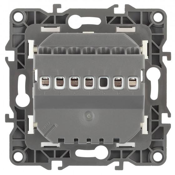 12-4111-05 ЭРА Терморегулятор универс. 230В-Imax16А, IP20, Эра12, антрацит (6/60/1200)
