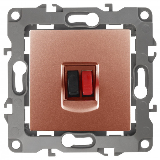 12-3111-14 ЭРА Розетка аудио, IP20, Эра12, медь (10/100/3200)