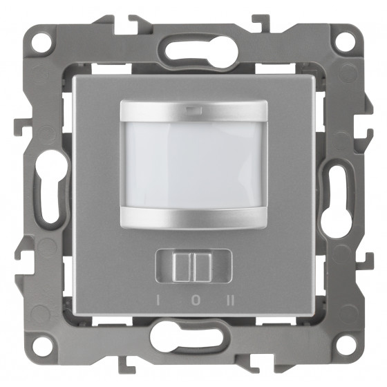 12-4103-03 ЭРА Датчик движения 2-проводной, 180-240В, 200Вт, IP20, Эра12, алюминий (6/60/1800)