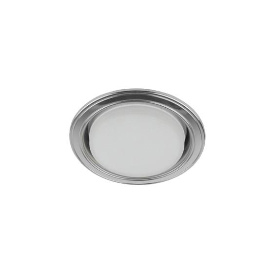 KL35 SL/CH Светильник ЭРА под лампу Gx53,220V, 13W,серебро/хром (80/1120)