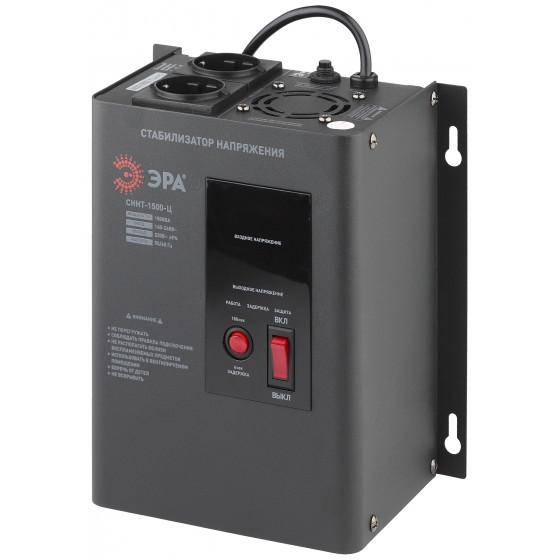 СННТ-1500-Ц ЭРА Стабилизатор напряжения настенный, ц.д., 140-260В/220/В, 1500ВА (4/72)