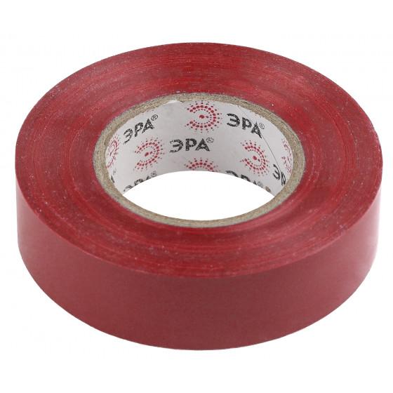 ЭРА ПВХ-изолента 19мм*20м красная (10/200/6400)