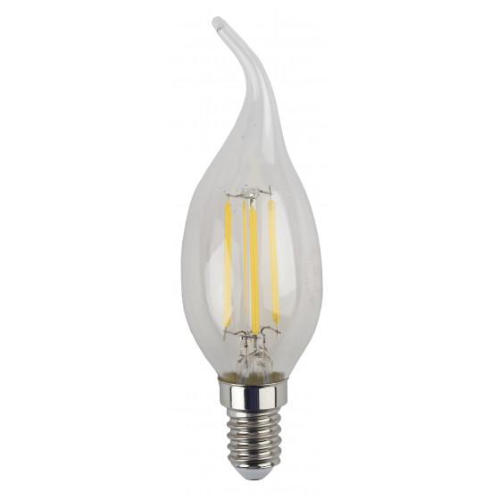 F-LED BXS-5W-840-E14 ЭРА (филамент, свеча на ветру, 5Вт, нейтр, E14) (25/50/3000)