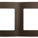 12-5002-13 ЭРА Рамка на 2 поста, Эра12, бронза (10/100/3600)