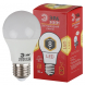 ECO LED A60-8W-827-E27 ЭРА (диод, груша, 8Вт, тепл, E27) (10/100/1200)