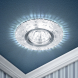 DK LD8 SL/WH Светильник ЭРА декор cо светодиодной подсветкой MR16, прозрачный (50/1750)