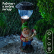 SL-RSN30-GN2 ЭРА Садовый светильник на солнечной батарее, полистоун, цветной, 30 см (12/72)