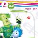 ЭРА наст.светильник NLED-447-9W-GR зеленый ФИКСИКИ (8/128)