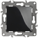 12-1108-06 ЭРА Переключатель промежуточный, 10АХ-250В, IP20, Эра12, чёрный (10/100/2500)