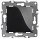 12-1103-06 ЭРА Переключатель, 10АХ-250В, IP20, Эра12, чёрный (10/100/3200)