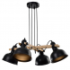 Светильник подвесной (подвес) Rivoli Nathalie 4021-214 4 х Е27 40 Вт лофт - кантри