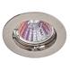 KL1 CH Светильник ЭРА литой простой MR16,12V, 50W хром (100/3000)