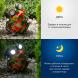 SL-RSN14-WITR ЭРА Садовый светильник на солнечной батарее, полистоун, цветной, 14 см (24/288)