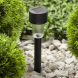 SL-PL30 ЭРА Садовый светильник на солнечной батарее, пластик, черный, 30 см (24/1320)