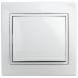 1-101-01 Intro Выключатель, 10А-250В, IP20, СУ, Plano, белый (10/200/2400)