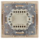 1-103-02 Intro Переключатель, 10А-250В, IP20, СУ, Plano, сл.кость (10/200/2400)