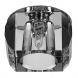 """DK21 CH/WH/BK Светильник ЭРА декор """"усеченный куб"""" MR16,12V/220V, 50W,  хром/прозрачный/черный (30/5"""