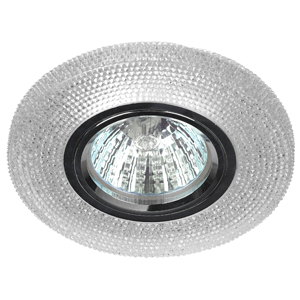 DK LD1 X WH Светильник ЭРА декор MR16, прозрачный (50/1400)