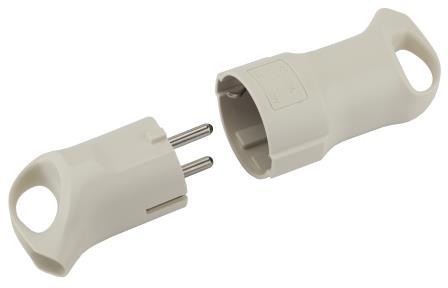 V3 , R3 16А, 3500 ВТ - для энергоёмких устройств; с кольцом для удобного извлечения и угловым присоединением провода
