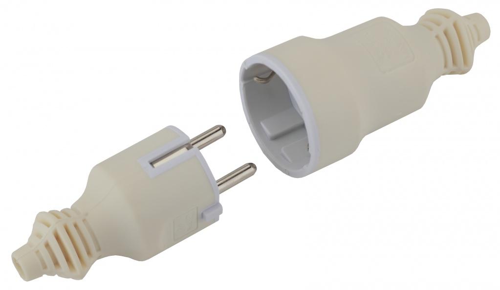 V4(W) , R4(W) 16А, 3500 ВТ - для энергоёмких устройств; с приятным на ощупь ПВХ-покрытием